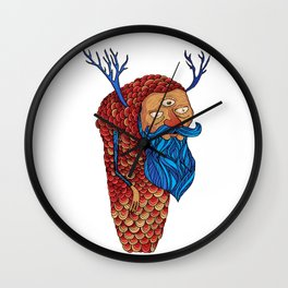 Everything is a state of mind Wall Clock