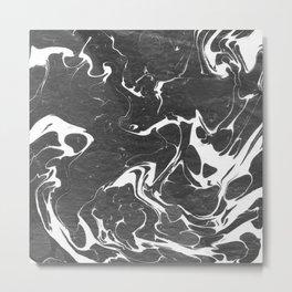 血液 (Blood) Metal Print
