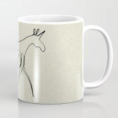 Continuous Line Unicorn Mug
