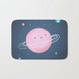 Little cute planet Bath Mat