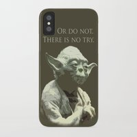yoda iPhone & iPod Cases featuring Yoda by DisPrints
