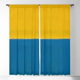 Untitled (Yellow and Blue) by Mark Rothko HD Blackout Curtain