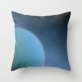 Out There Throw Pillow