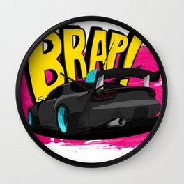 Brap! Wall Clock