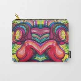 Strawberry Bubblegum Carry-All Pouch