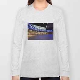 Staten Island Ferry Sign (Image is cropped here) Long Sleeve T-shirt