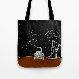 Opportunity Is Dark Tote Bag