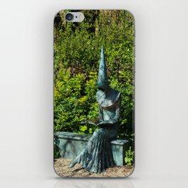 Reading Chaucer iPhone Skin