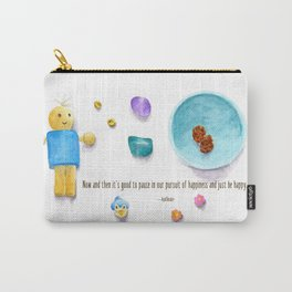 Bluebird of Happiness Carry-All Pouch