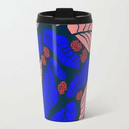 Bright bold floral designs for fashion and home Travel Mug