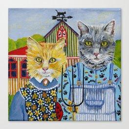 American Meowthic Canvas Print