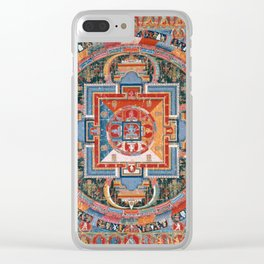 Mandala of Jnanadakini Clear iPhone Case