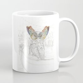 Miss Owl and butterfly friends at the Venice Carnival Coffee Mug