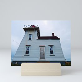 Lighthouse in North-Rustico Mini Art Print