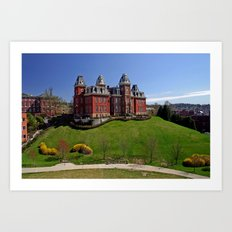 West Virginia University Art Print