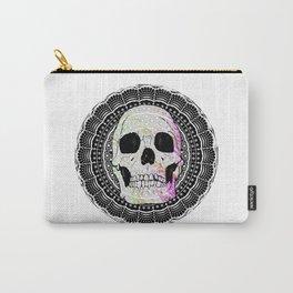Sugar Skull Mandala Carry-All Pouch