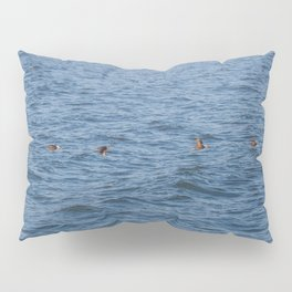 Lucky fishers-puffins Pillow Sham
