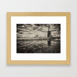 Dark Reflections  Framed Art Print