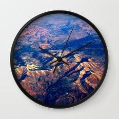 Rocky Mountains Wall Clock
