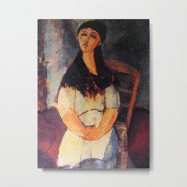 Amedeo Modigliani Modi c1920 Metal Print