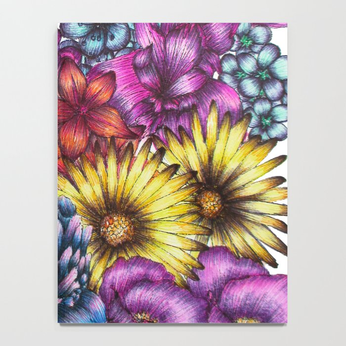 A Field of Flowers Notebook