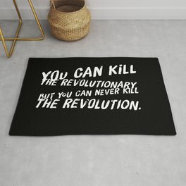 Can Never Kill The Revolution Rug