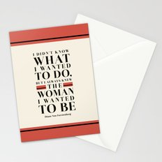 The Woman I Wanted To Be Stationery Cards