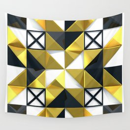 Light Dark and Gold 03 Wall Tapestry