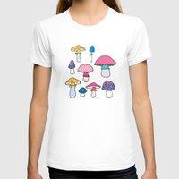 mushroom T-shirts featuring Mushroom by Elyse Beisser