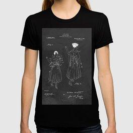 Vintage Fashion Negligee Patent T-shirt