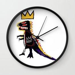 Basquiat Dinosaur - Jean Michel Basquiat Wall Clock