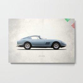 The 275 GTB-6 Metal Print