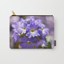 Purple Primrose Carry-All Pouch