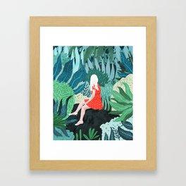 Forest Gaze Framed Art Print