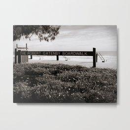 The Robert Gatenby Boardwalk Metal Print