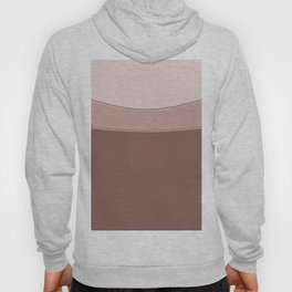 Abstract geometric beige texture. Hoody