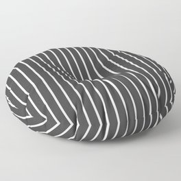 Pinstripe Floor Pillow