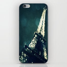 PARIS BLUE  iPhone Skin