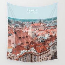 Prague, Czech Republic Travel Artwork Wall Tapestry
