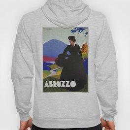 Abruzzo Italian travel Lady on a walk Hoody