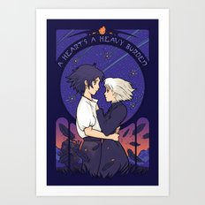 Something I Want to Protect (Dark Version) Art Print