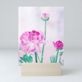 Vintage Ranunculus 7 Mini Art Print