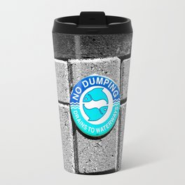Swimming with the Fishes Travel Mug