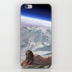 Space bathing iPhone & iPod Skin