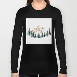 mountain # 4 Long Sleeve T-shirt