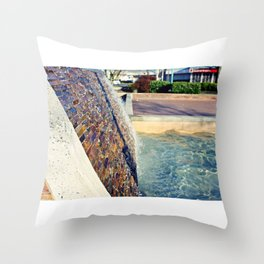 Waterfall Wall Version 2 Throw Pillow