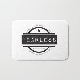 #Fearless Bath Mat