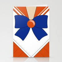 sailor venus Stationery Cards featuring Sailor Venus by kscullington | kristina anne