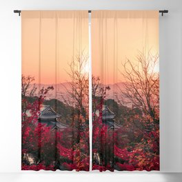 Magical sunset in Kyoto Blackout Curtain