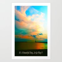 channel Art Prints featuring Channel by Dymond Speers